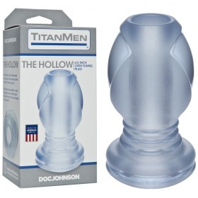 Gode Anal Creux Transparent - The Hollow