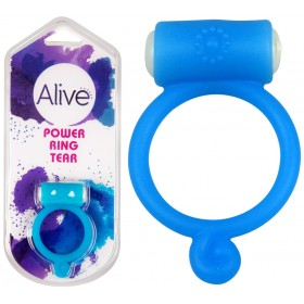 Anneau vibrant Power Ring Tear bleu