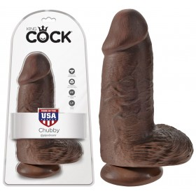 Gode Extra Large Chubby Chocolat King Cock