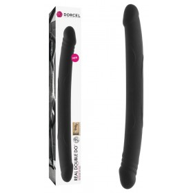 Double Gode Real Do Noir - 42 cm